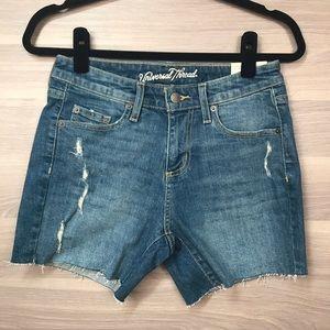 Universal Thread Mid Rise Boyfriend Shorts